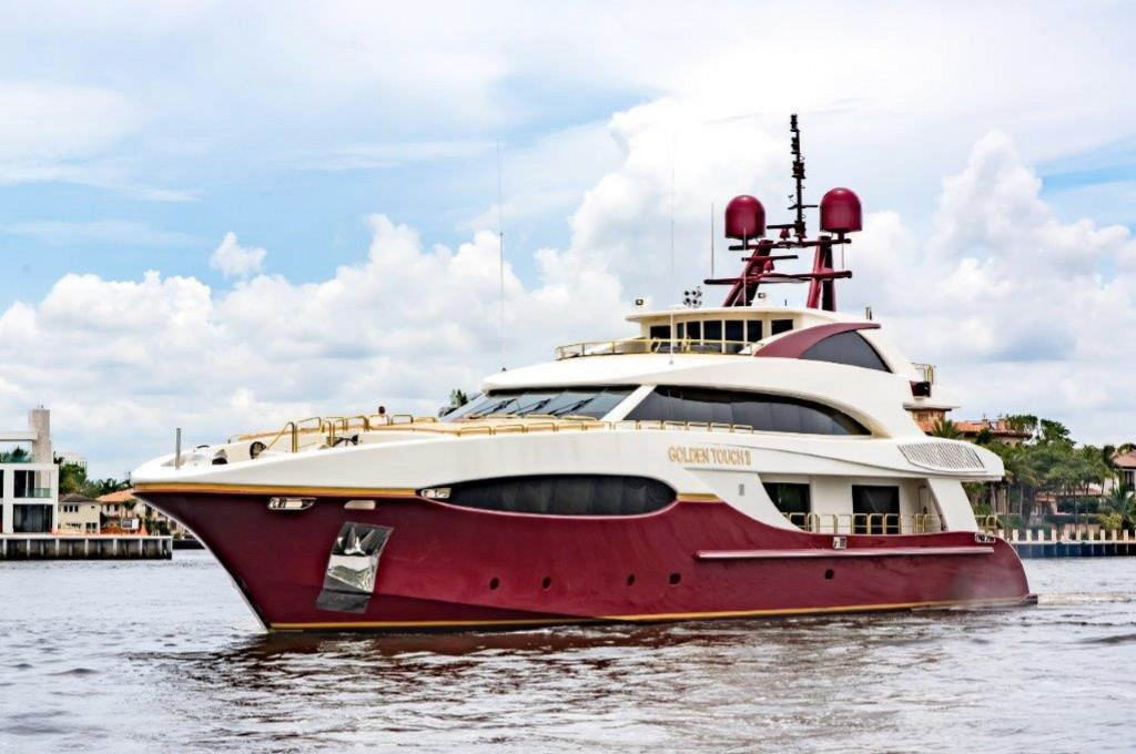 We welcome Golden Touch 147'